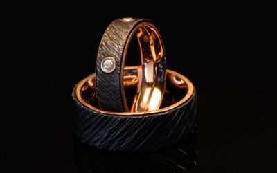 Unique Rose Gold Wedding Rings