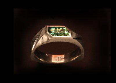 unique palladium anniversary ring