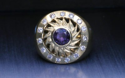 Sapphire engagement rings:  The many colors of sapphires