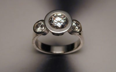Choosing a Diamond in your Engagement Ring – Part 1; Bend Oregon Wedding Ring Designer