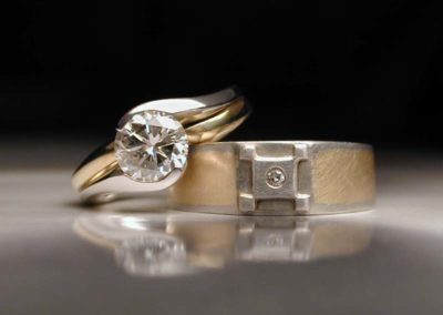 unique diamond wedding rings jim dailing