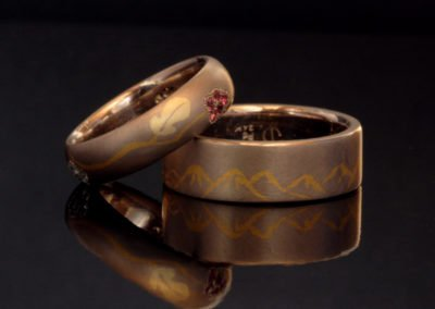 wedding rings, gold, pure gold, diamonds, gemstones, palladium, birthstones