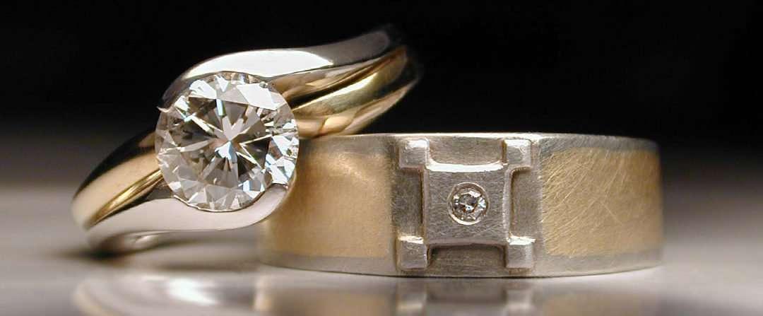 unique wedding rings, diamonds, gold
