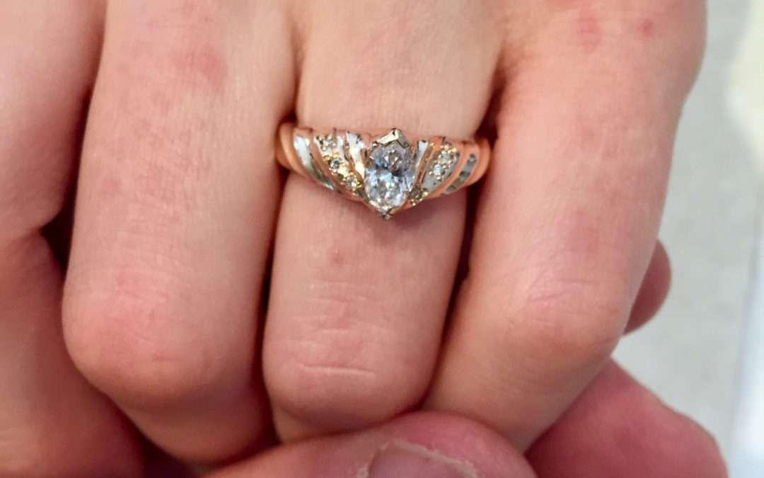 unique engagement ring, custom wedding ring